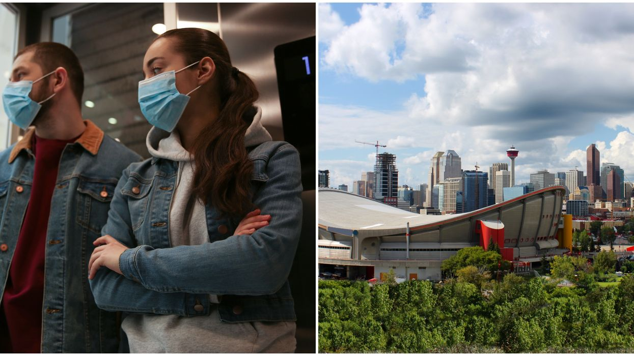 Calgary's Mandatory Mask Bylaw Starts In August But There Are Tons Of Exceptions