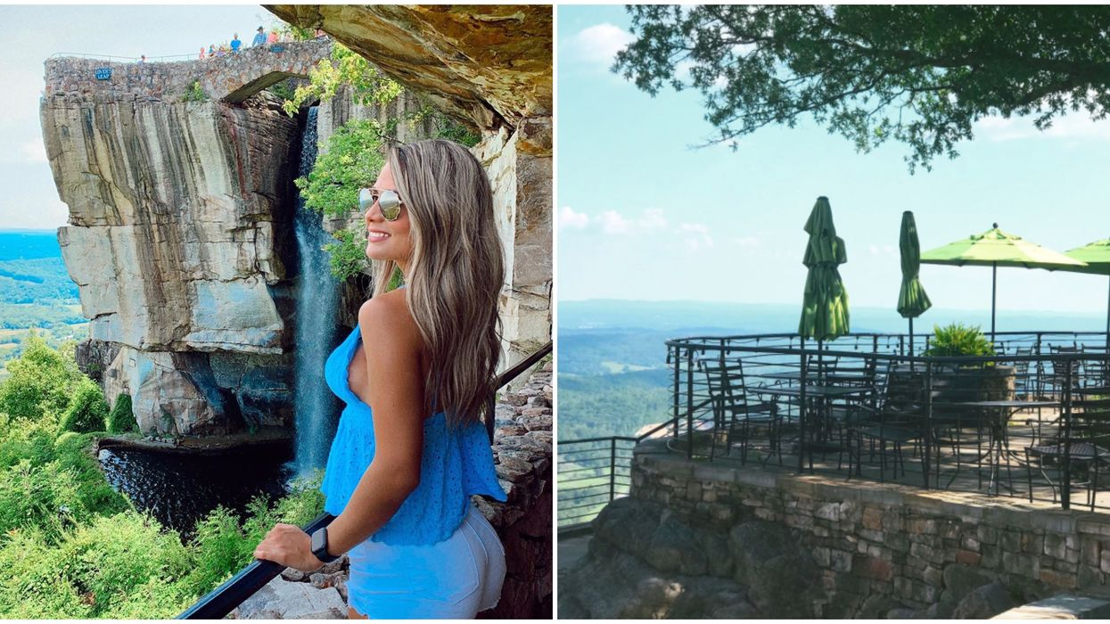 Mountain Top Restaurant In Georgia Will Give You Scenic Views For Miles