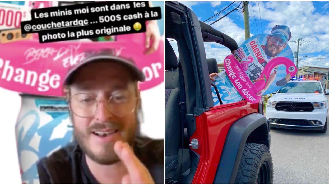 Olivier Primeau lance un concours et la police doit intervenir