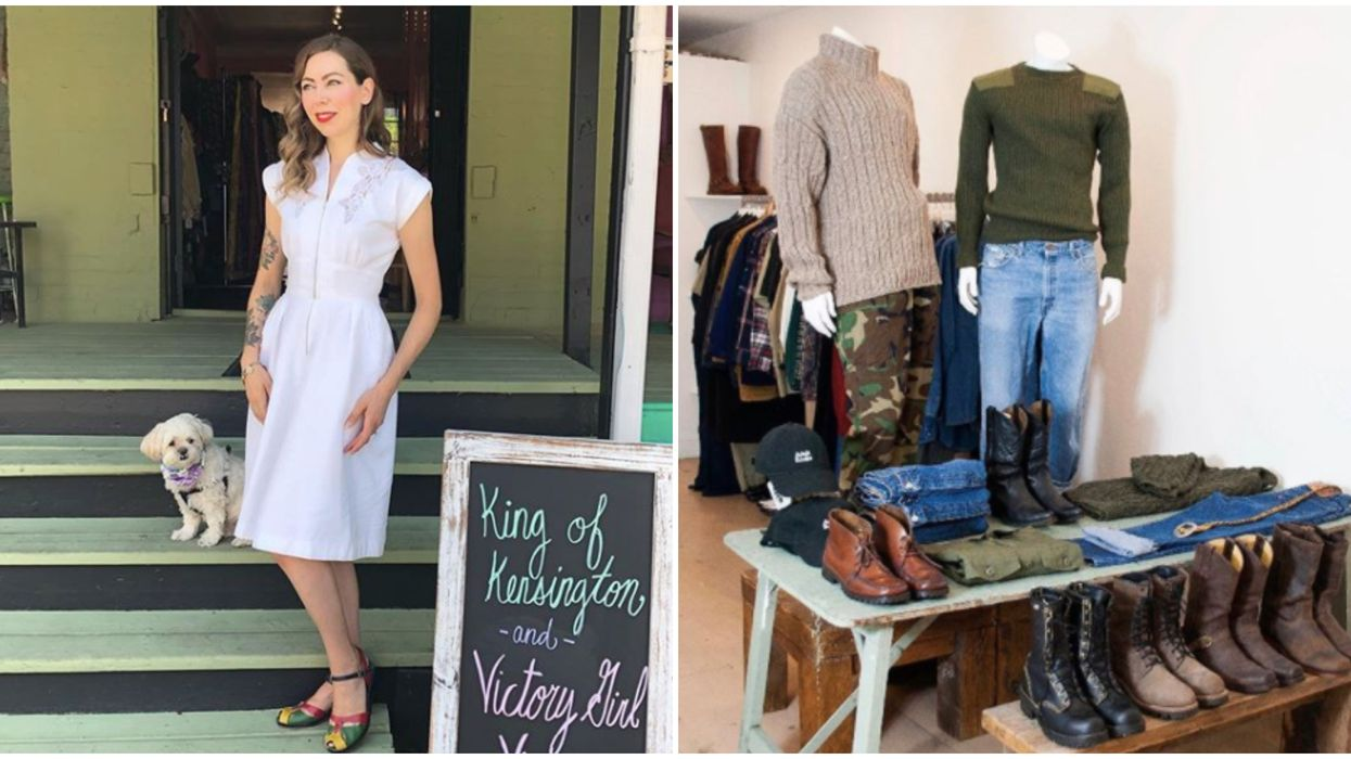 7 Vintage Shops In Toronto That Any Stylish Shopper Won't Want To Miss Out On