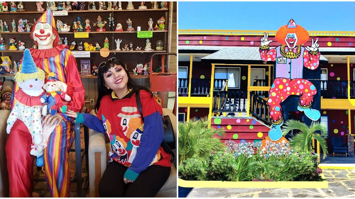 Clown Motel In Nevada Is The Perfect Spot For Any Horror Fan