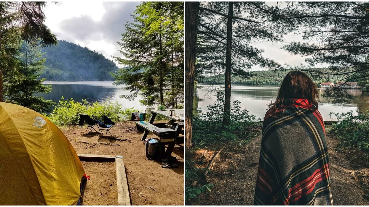 11 endroits à travers le Québec où tu peux encore réserver pour faire du camping sauvage cet été