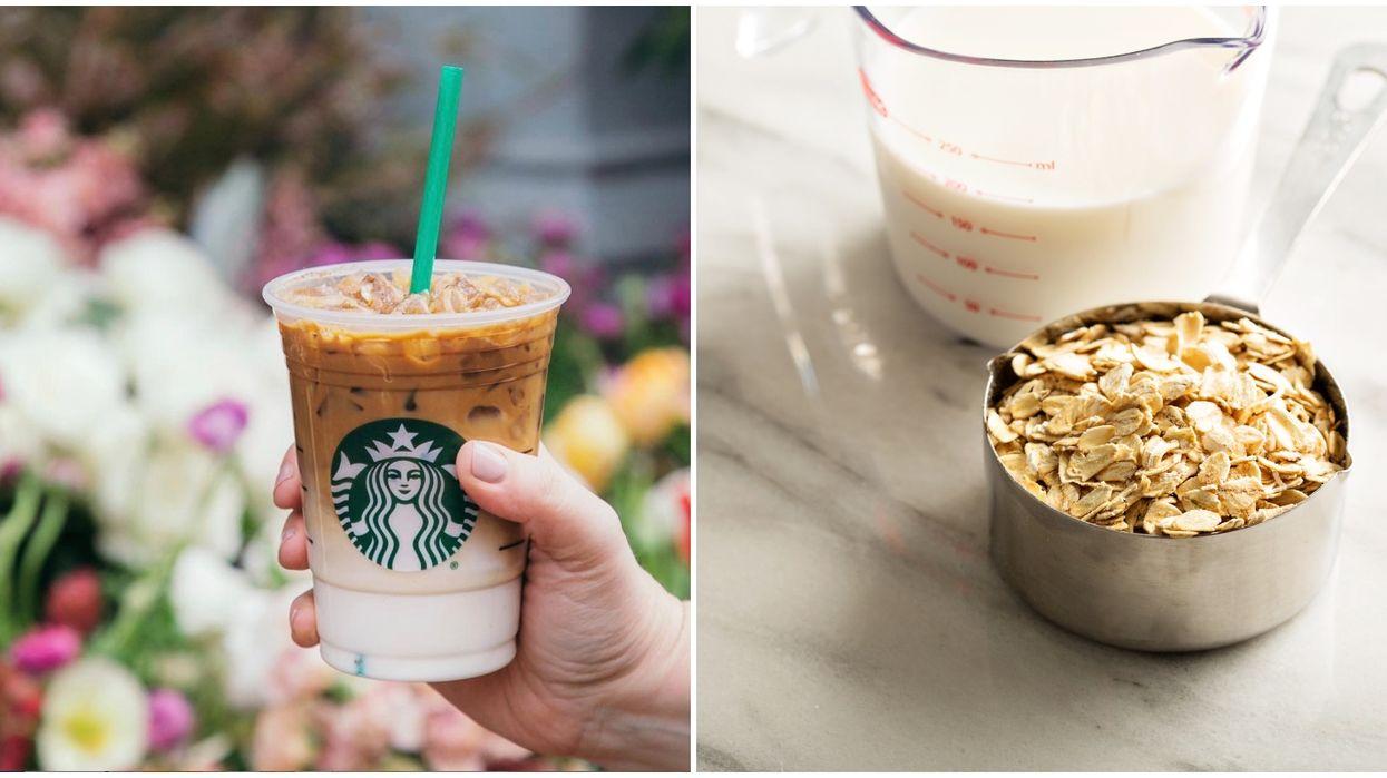 Starbucks va bientôt offrir le lait d'avoine partout au Québec et voici quand