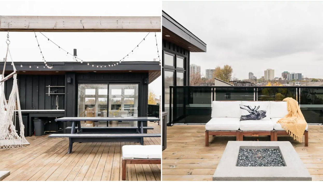 A Gorgeous Ottawa Airbnb Is Like Having Your Own Rooftop Spa With A View