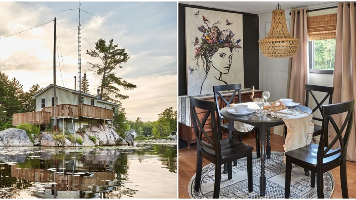 Ontario's Cheap Private Island For Sale Features An Adorable Little Home (PHOTOS)
