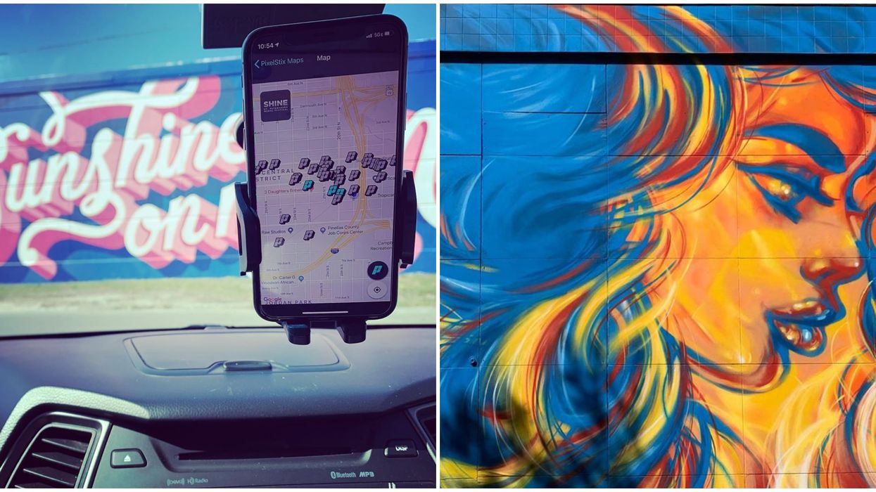 St. Petersburg Florida Murals Can Be Explored In A Whole New Way With This Free App
