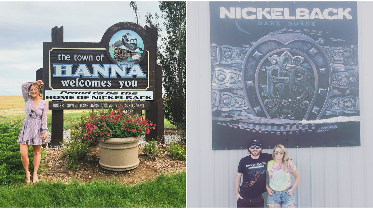 Hanna, Alberta Is Nickelback's Hometown & It's A Hilarious Road Trip From Calgary