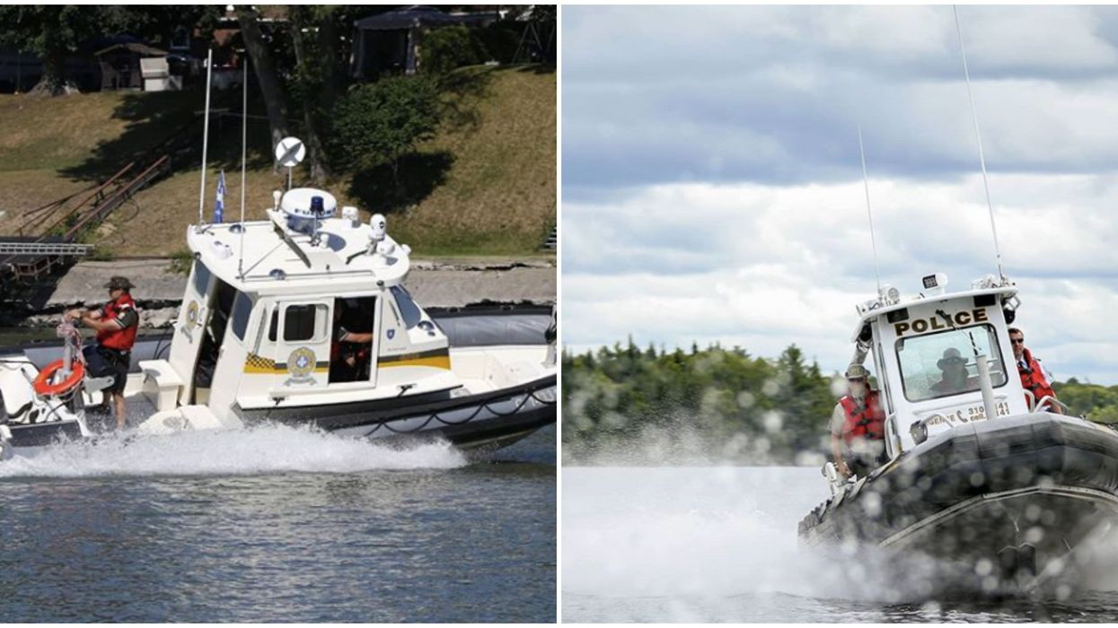 9 amendes que tu peux recevoir en bateau au Québec