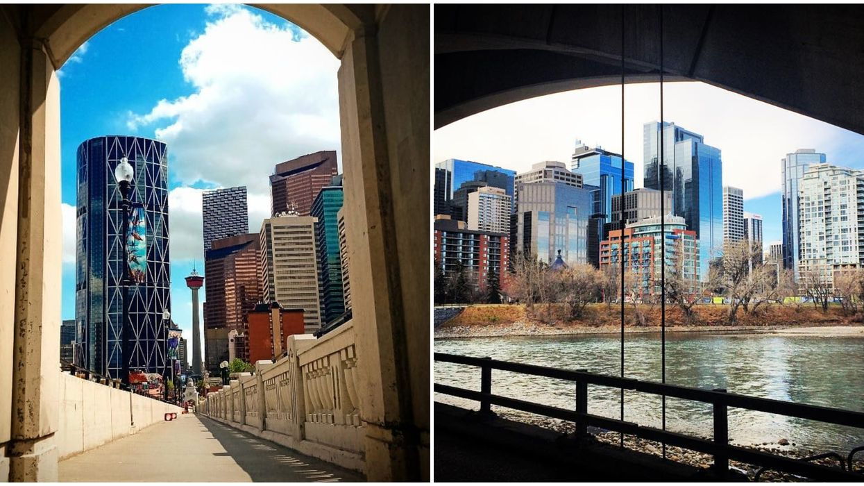One Of The Best Calgary Viewpoints Is Hidden In Plain Sight At The Center Street Bridge