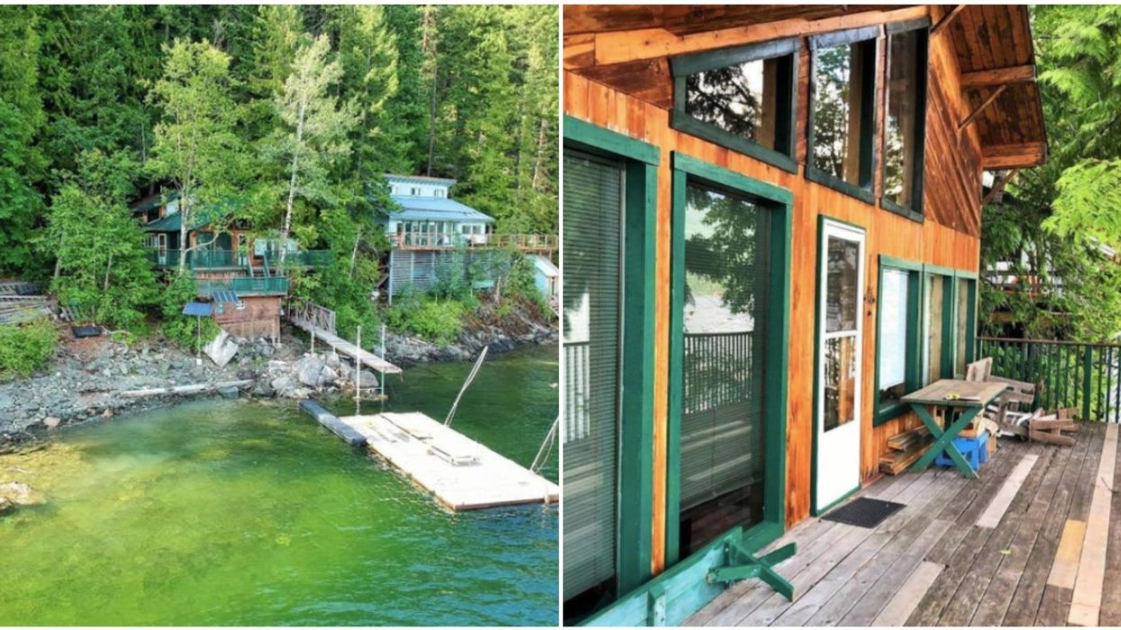Shuswap Home For Sale Is A Retro Lake House For Less Than A Vancouver Shoebox