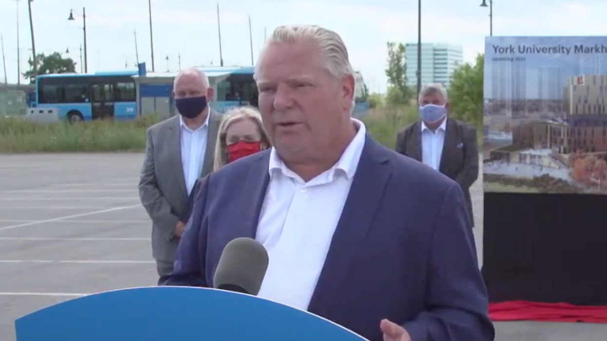 Ford Says It's 'Disgusting' That Ontario Towns Are Charging Visitors $50 For Parking