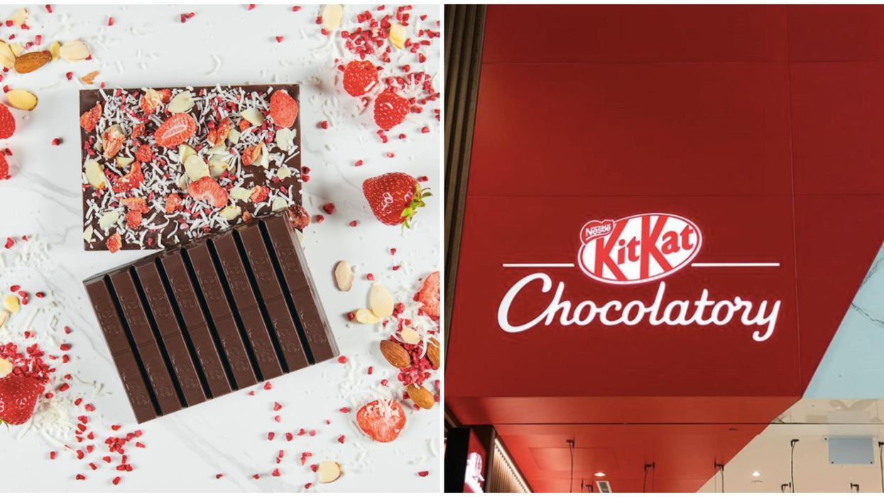 Toronto's KitKat Chocolatory Is Now Reopen With New Berry & S'more Bars