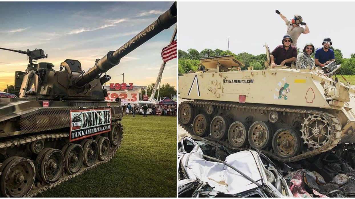 Tank America Orlando Discount Offer Available On All Tank Driving Experiences Rights Now