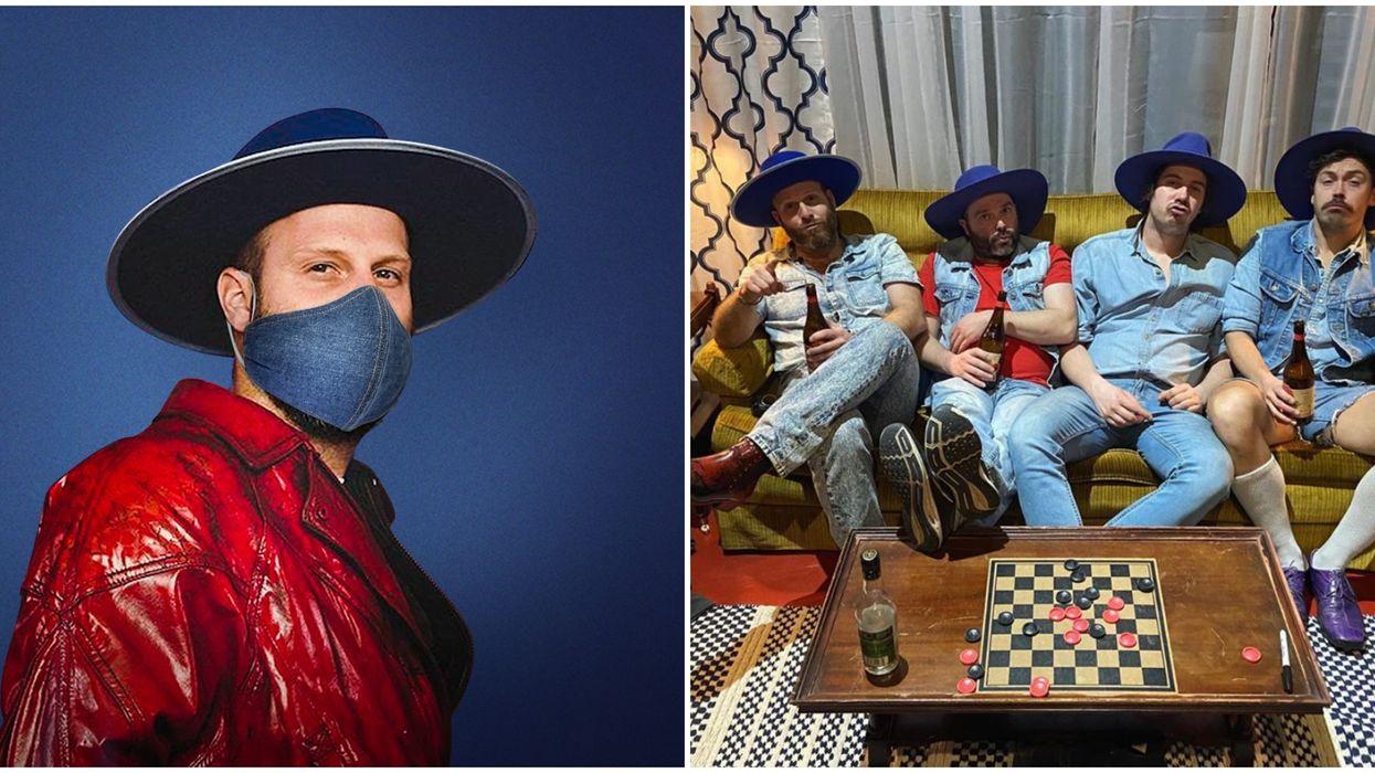 Bleu Jeans Bleu fait une chanson pour le port du masque chez IGA et ça devient viral