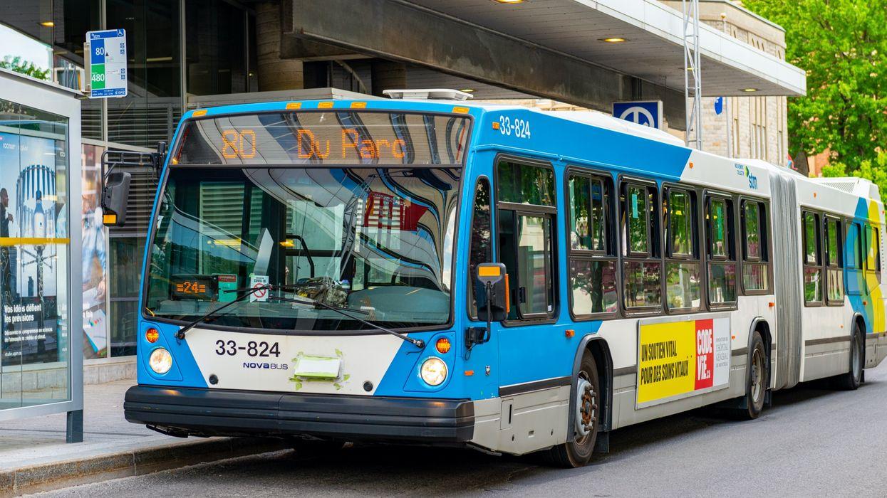 Une bagarre filmée dans un autobus de la STM est causée par le port du masque