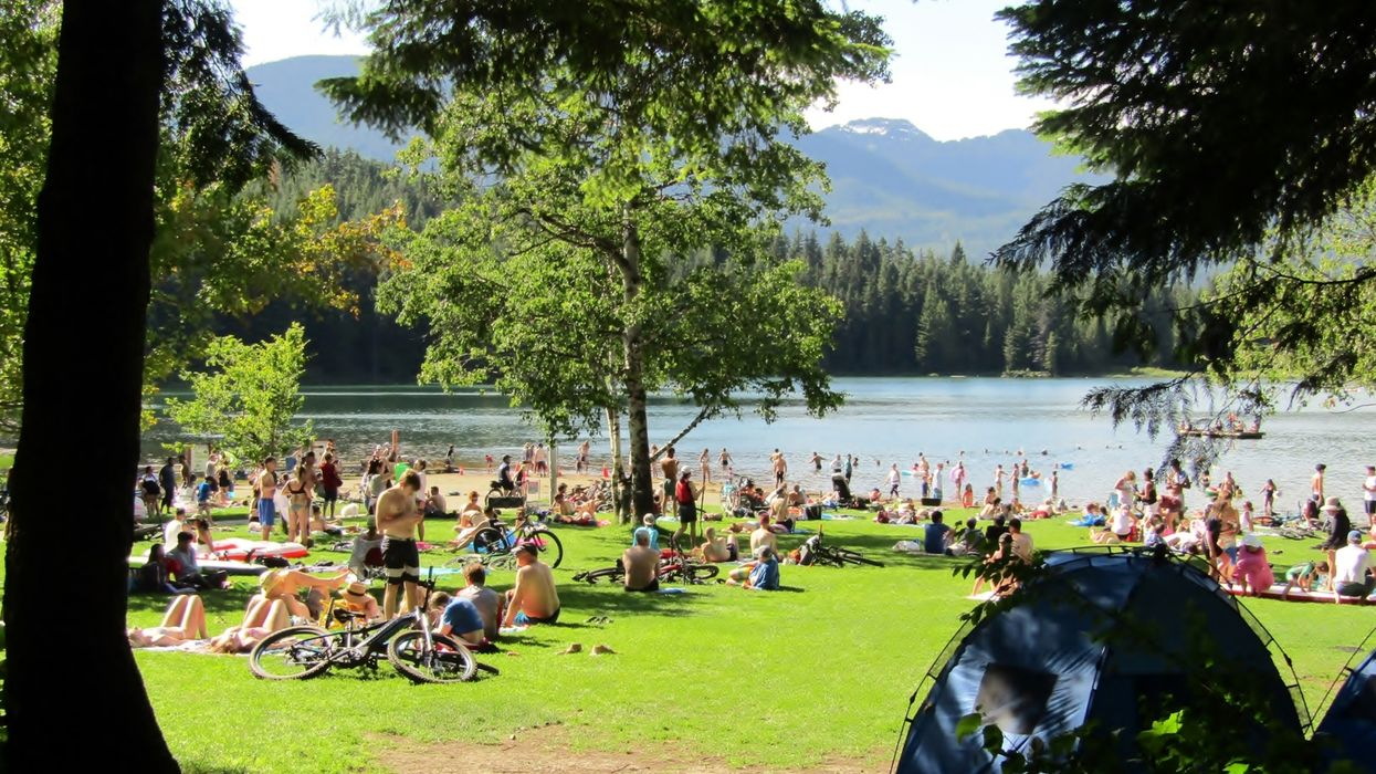 Summer In BC Has Arrived & The Province Is Warned Of Its 'First Heat Of The Season'