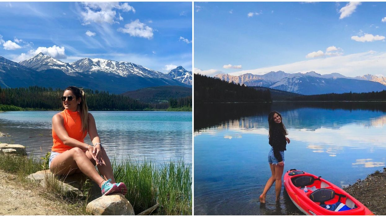 Patricia Lake Is An Alpine Swimming Hole In Alberta & You Can Reach It In 4.8 km