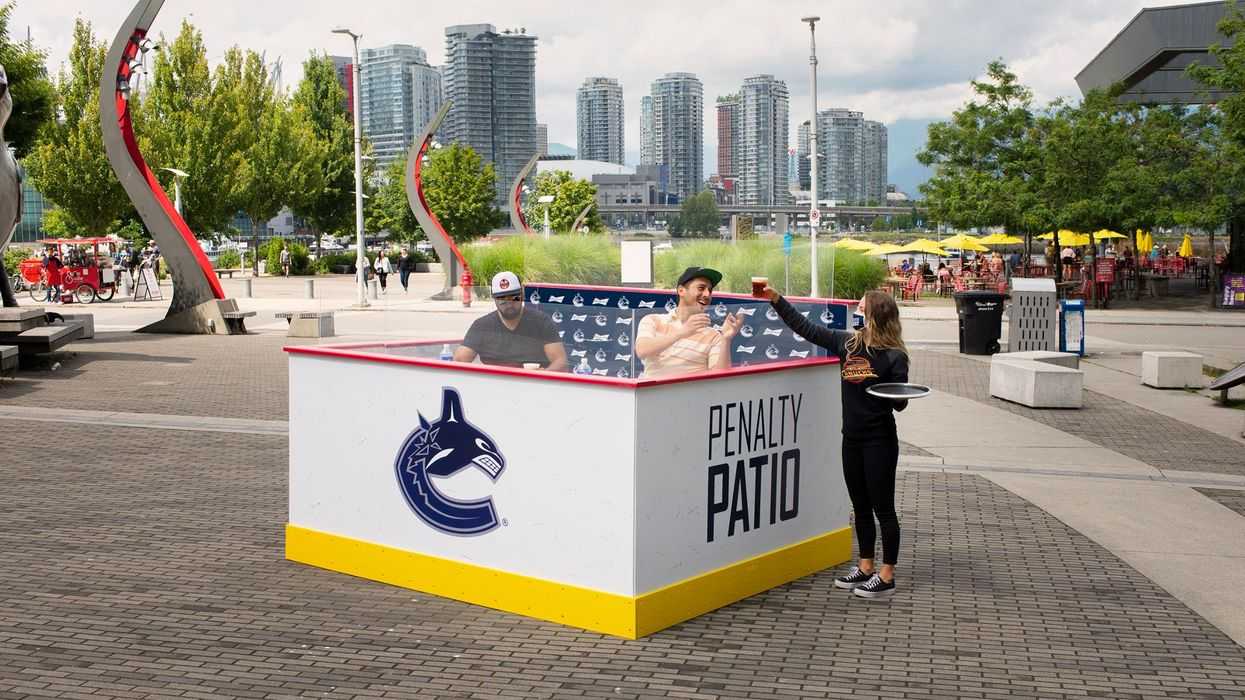Vancouver Canucks Patio: 'Penalty Box' Sports Bar Is The Tiniest In Canada