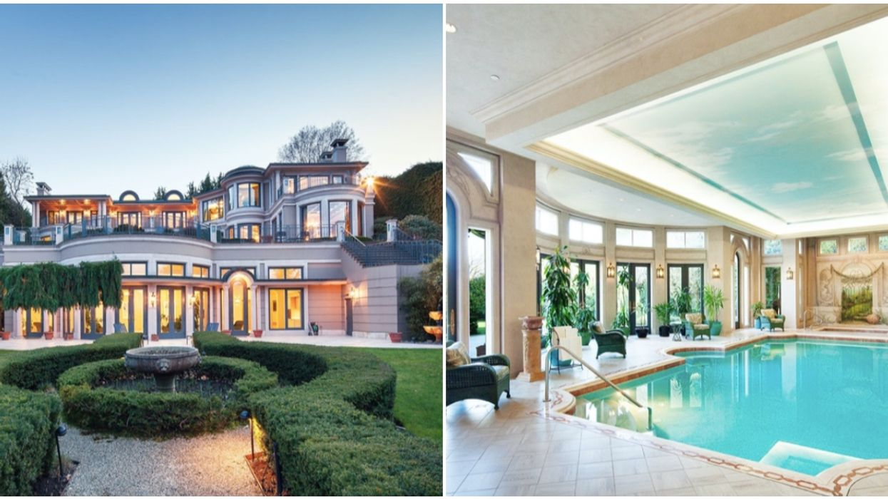 A Peek Inside The Most Expensive Vancouver Home For Sale Worth $58 Million (PHOTOS)