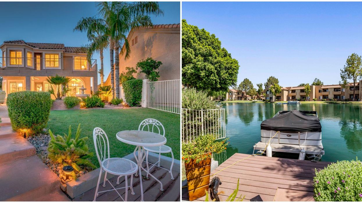 Gilbert Waterfront Home For Sale Is Like A Year-Round Caribbean Vacation (PHOTOS)