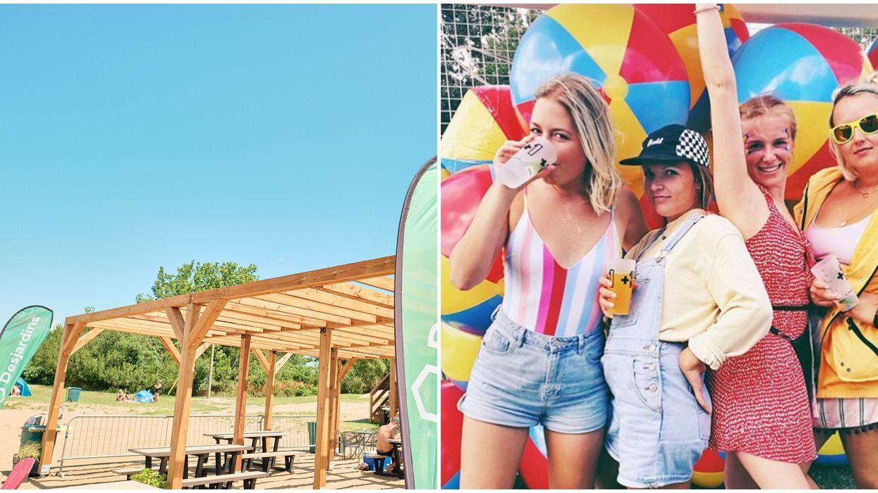 RécréoParc : Tu peux aller à des beach partys à seulement 20 minutes de Montréal cet été