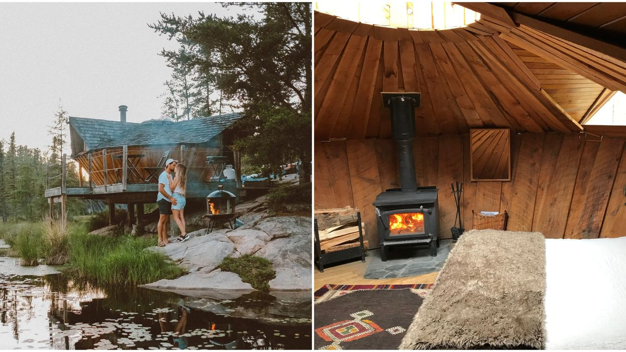 Yurt For Rent In Ontario Is A Dreamy Romantic Getaway Before Summer Ends