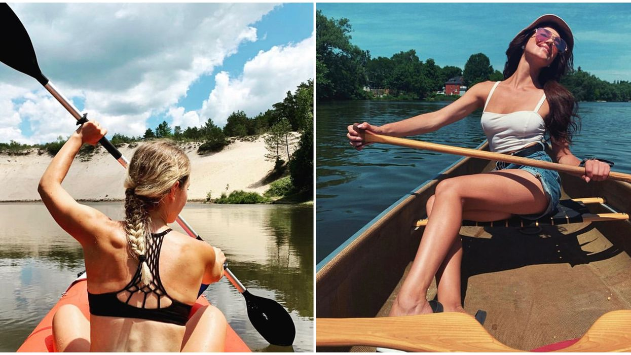 Canoe Rivers Near Toronto You Can Paddle Down For The Most Stunning Views