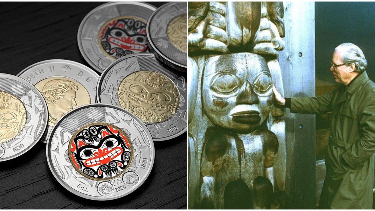 Bill Reid Toonie Is Now In Circulation & It Features His Beautiful Haida Art