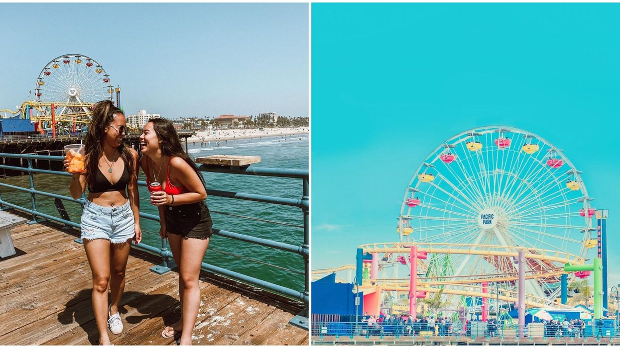 Santa Monica Pier In California Is A 'The Kissing Booth 2' Film Location You Can Visit