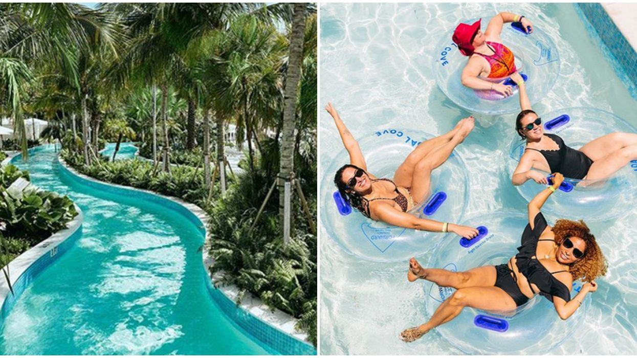 Tidal Cove Waterpark Miami Has A Lazy River You Can Float On For Hours This Summer