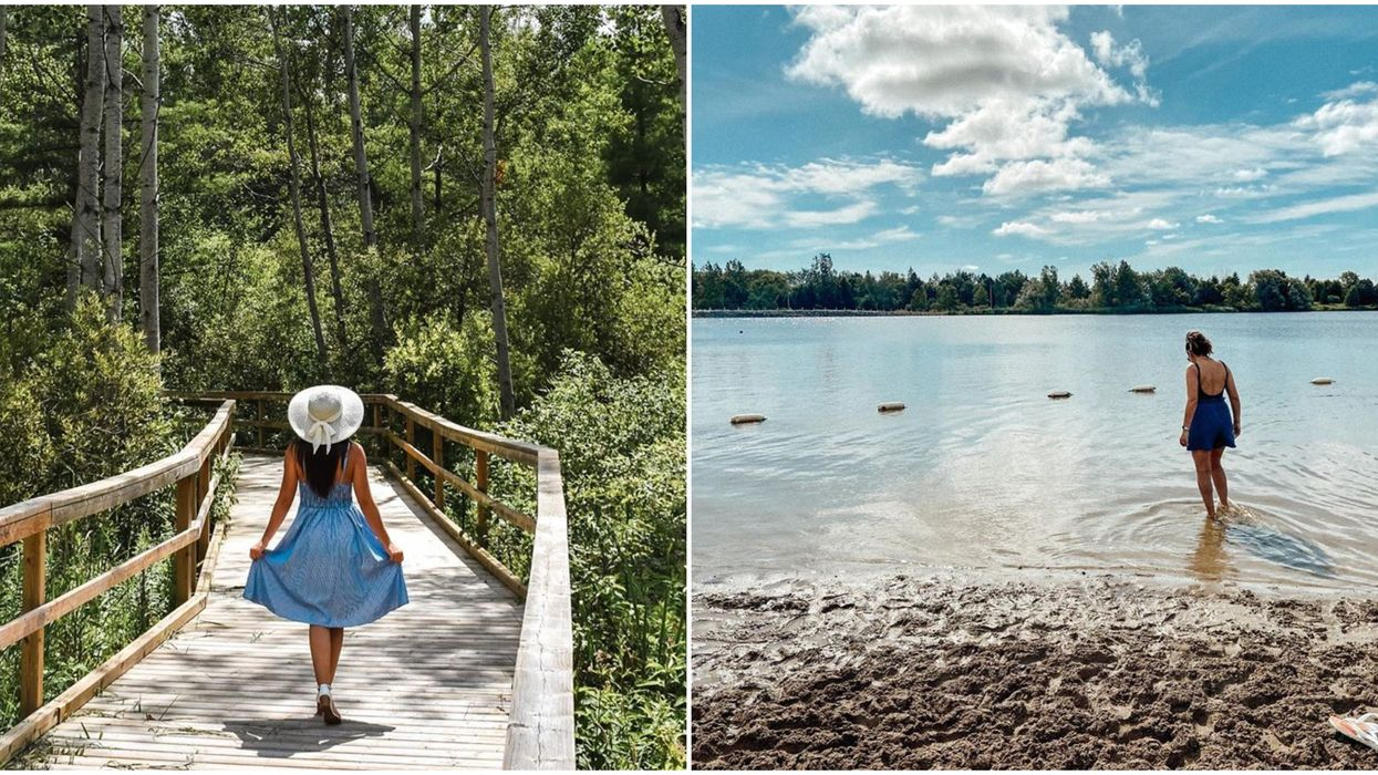 A Quiet Beach In Ontario Hidden At A Peaceful Oasis Is A Dreamy Day Trip From Toronto