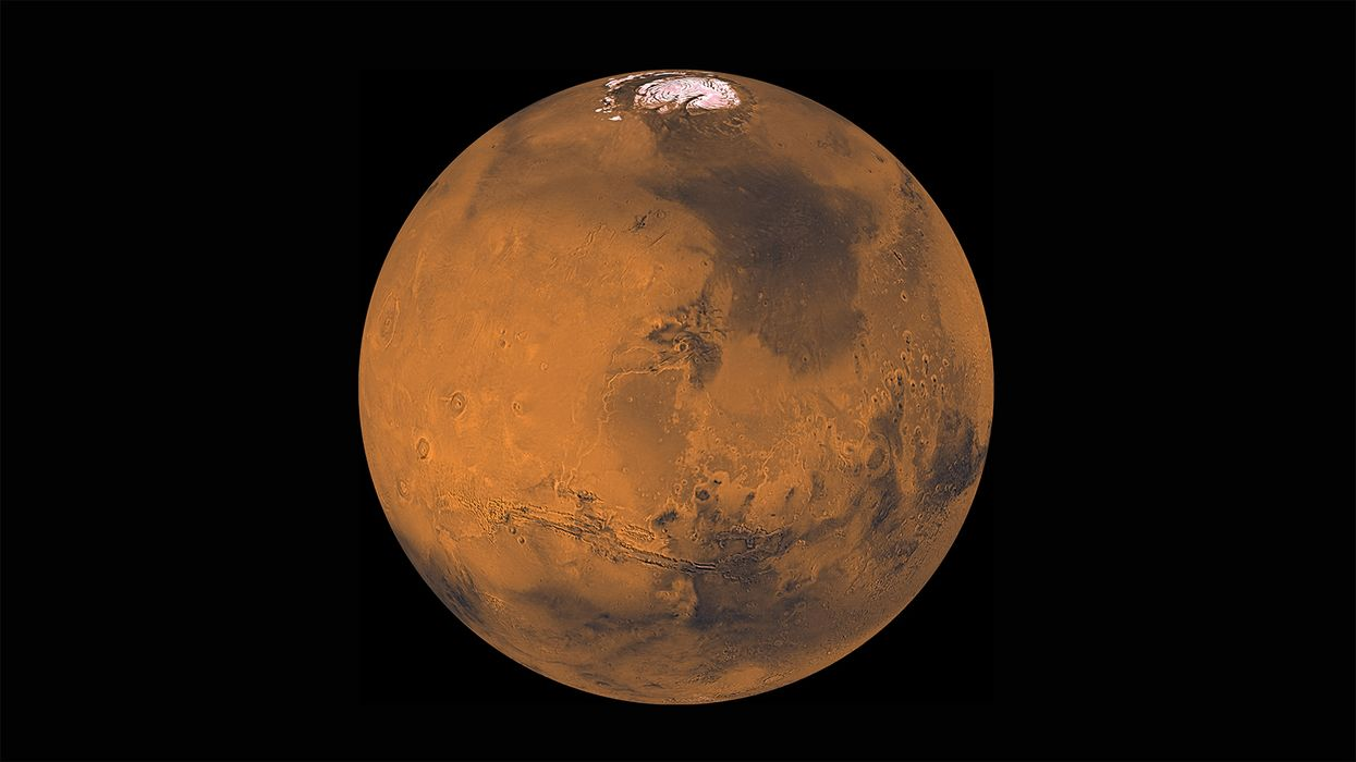 Mars 2020 Mission Includes Part Of A Crater On The Red Planet Named After A Canadian Park