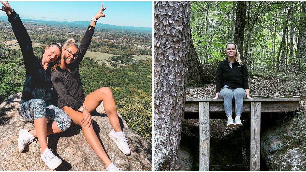 Indian Seats Hiking Trail Near Atlanta Has Incredible Views For Miles At Summit