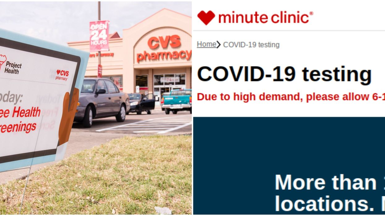 CVS COVID-19 Testing In Florida Is Being Called Out After Results Take Longer Than 5 Days