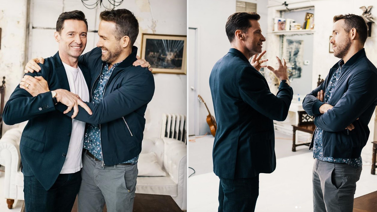The faux feud continues! It seems like Ryan Reynolds and Hugh Jackman aren't done with their ongoing flame war, but that just means that fans get more hilarious entertainment. The actors both trolled each other following The Wolverine star's recent Emmy nomination.