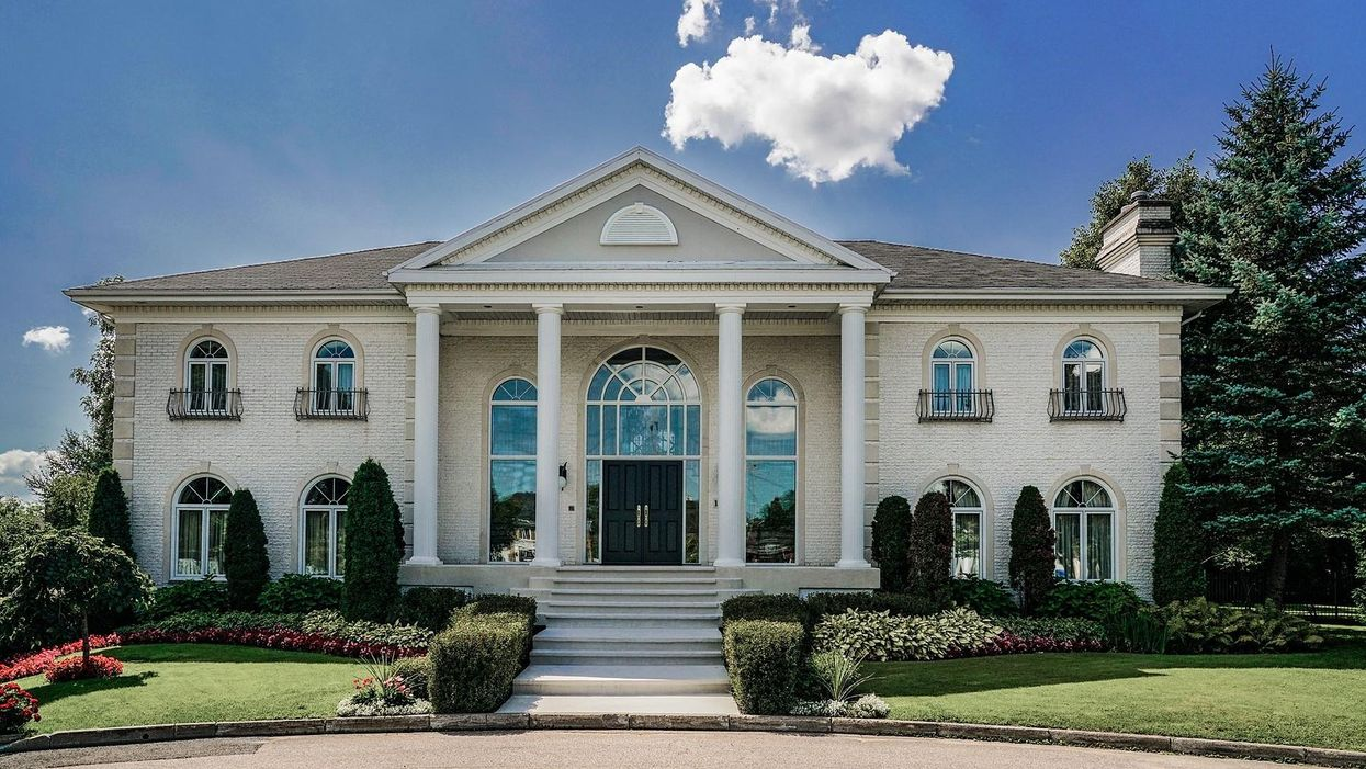 Cette demeure de 2,5 M$ à vendre à Québec est digne de la Maison-Blanche