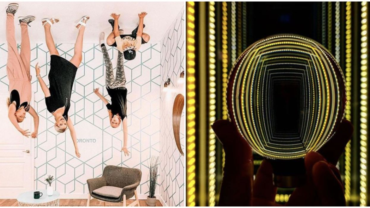 Toronto's Museum Of Illusions Is A Cheap Day Out Full Of Old-School Mind-Bending Fun