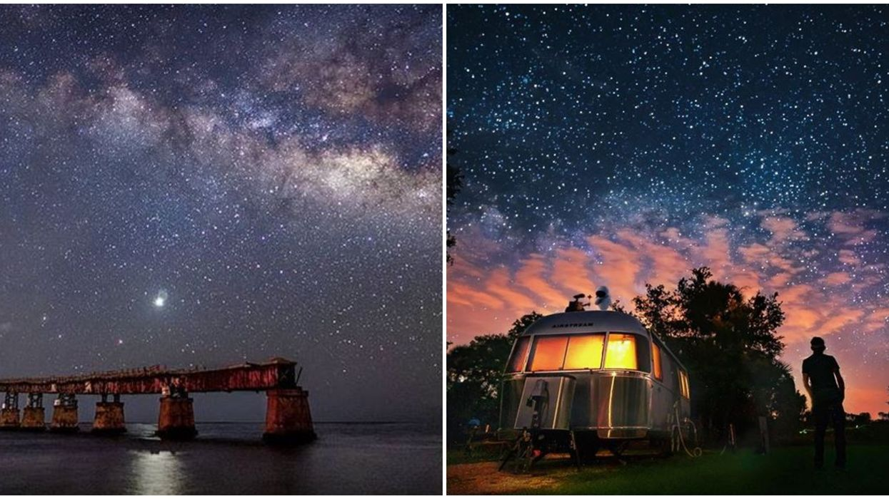 Florida Campsites Best Stargazing Spots Are Top Notch At These Ultra Dark Destinations