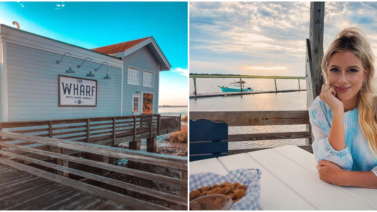 The Wharf Restaurant On Jekyll Island Georgia Is Like A Set Out Of Netflix's Outer Banks
