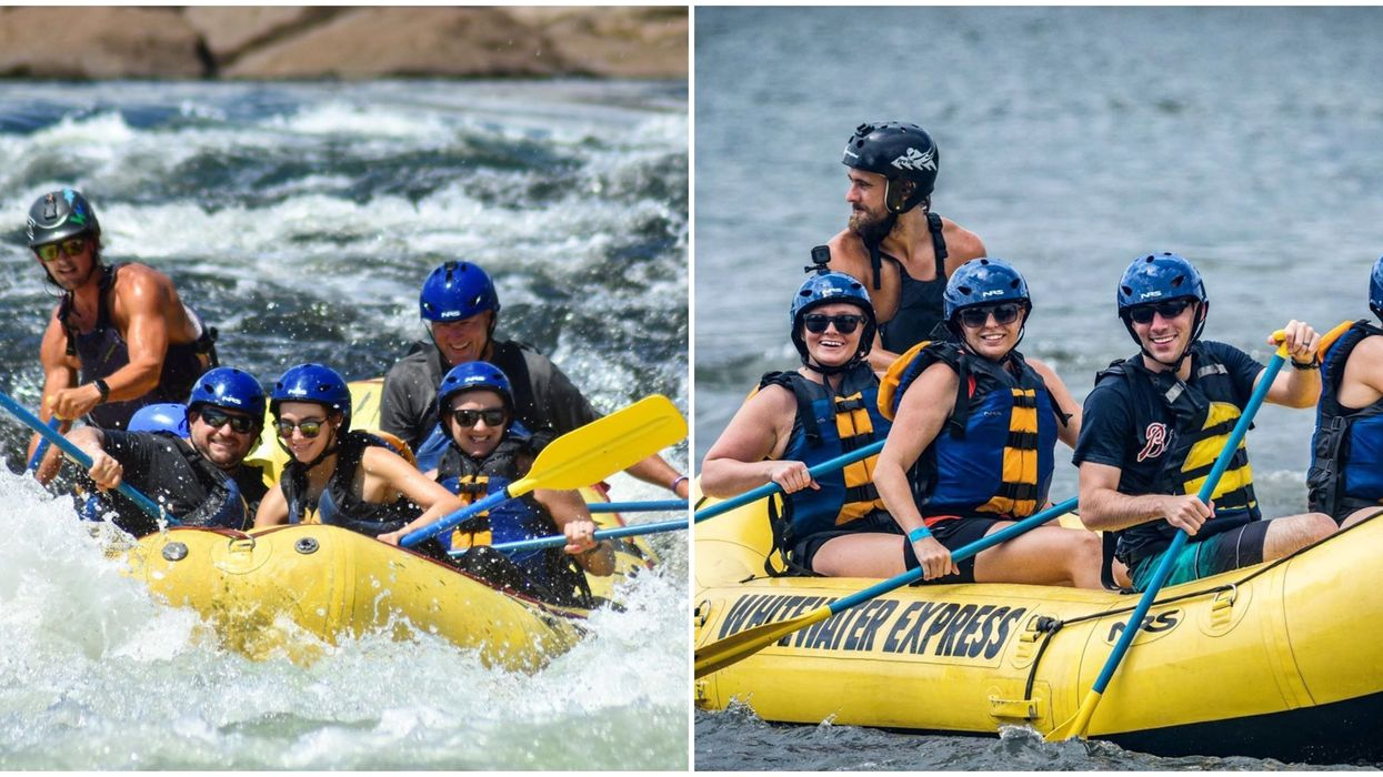 Whitewater Express Park In Georgia Has Affordable White Water Rapid Rafting Adventures