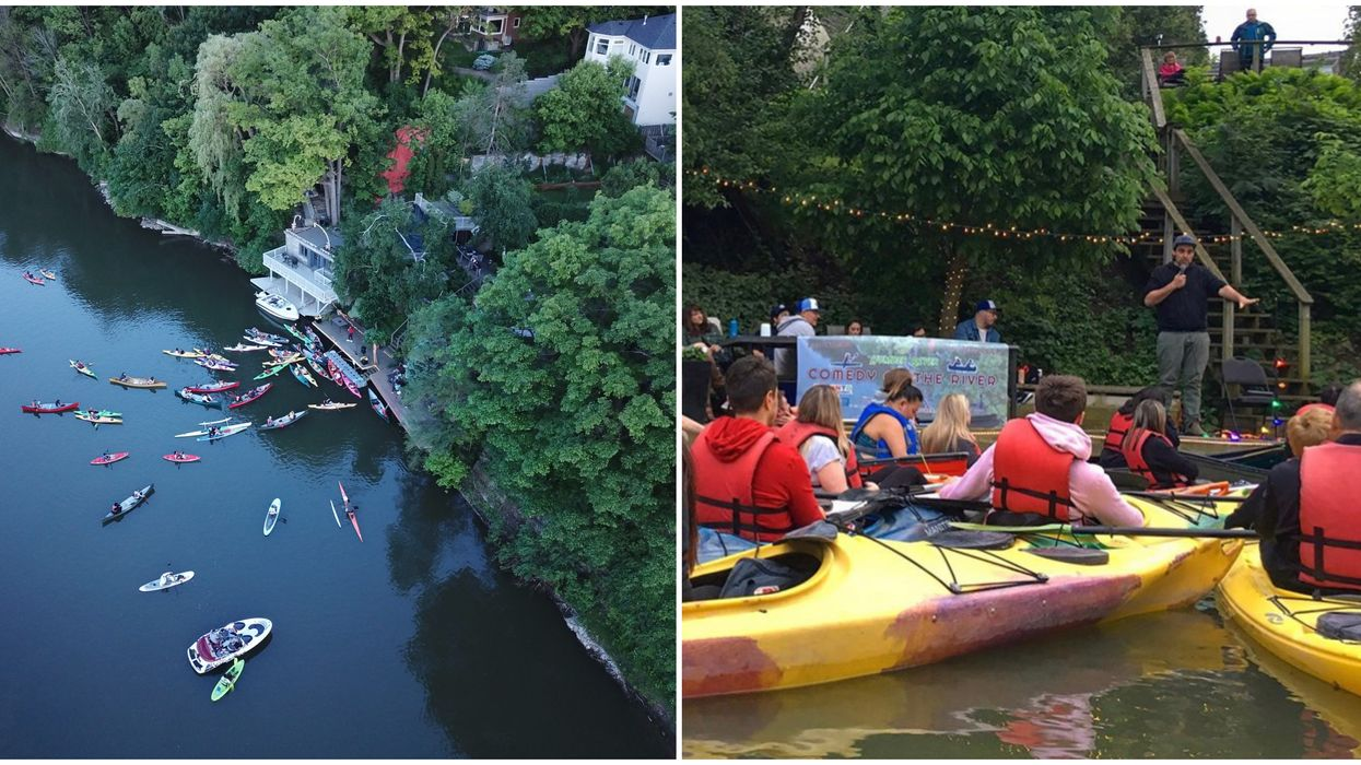 Toronto's Floating Concerts Let You Enjoy A Show From A Boat