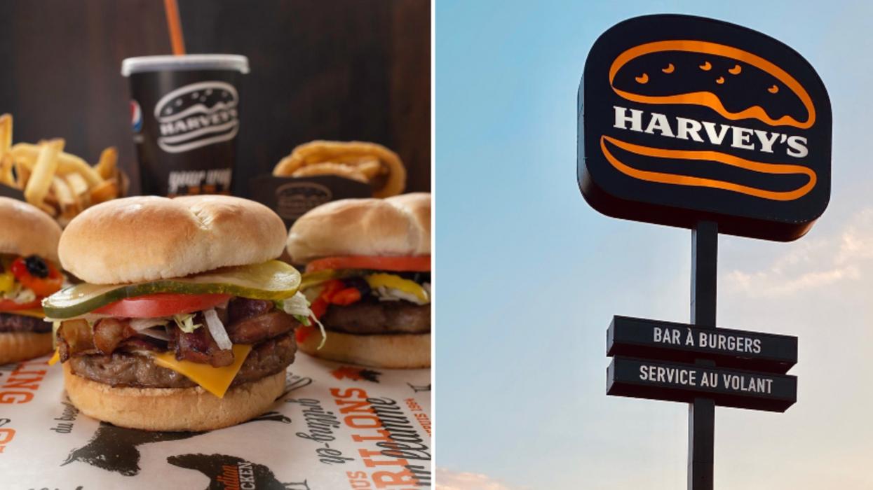 Tout le « staff » d'épicerie peut avoir un burger Harvey's gratuit à Montréal ce week-end
