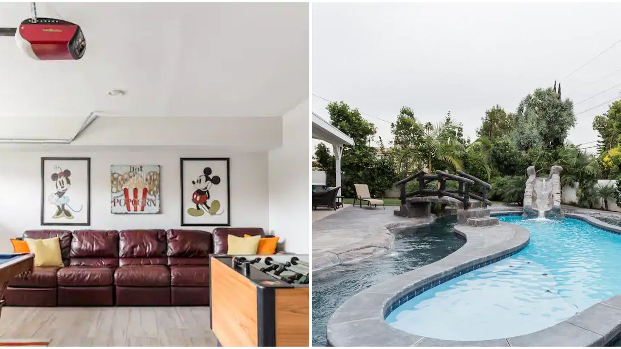 Lazy River Airbnb In California Is Like A 'Disney-Themed' Resort