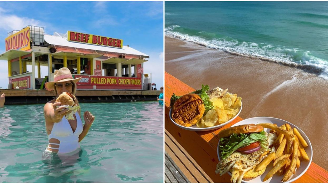 This Map Will Take You To The Best 'Eat On The Beach' Restaurants In Florida