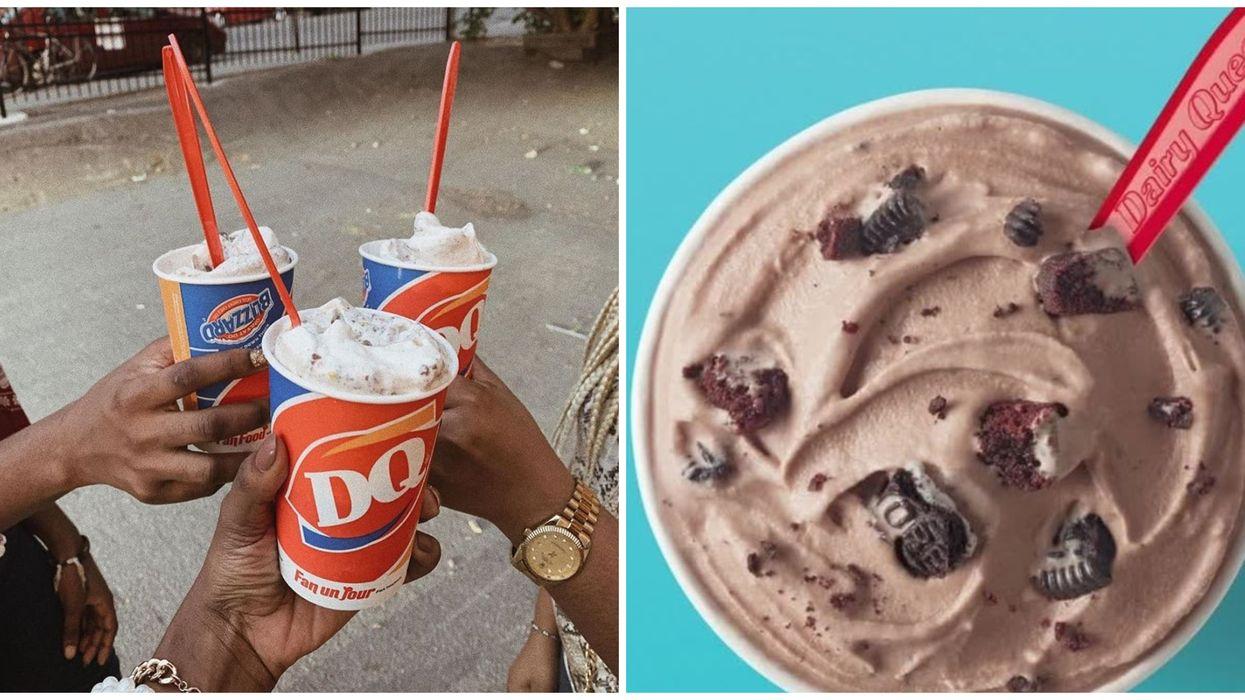 Dairy Queen sort le nouveau Fudge Brownie Blizzard dès aujourd'hui au Québec