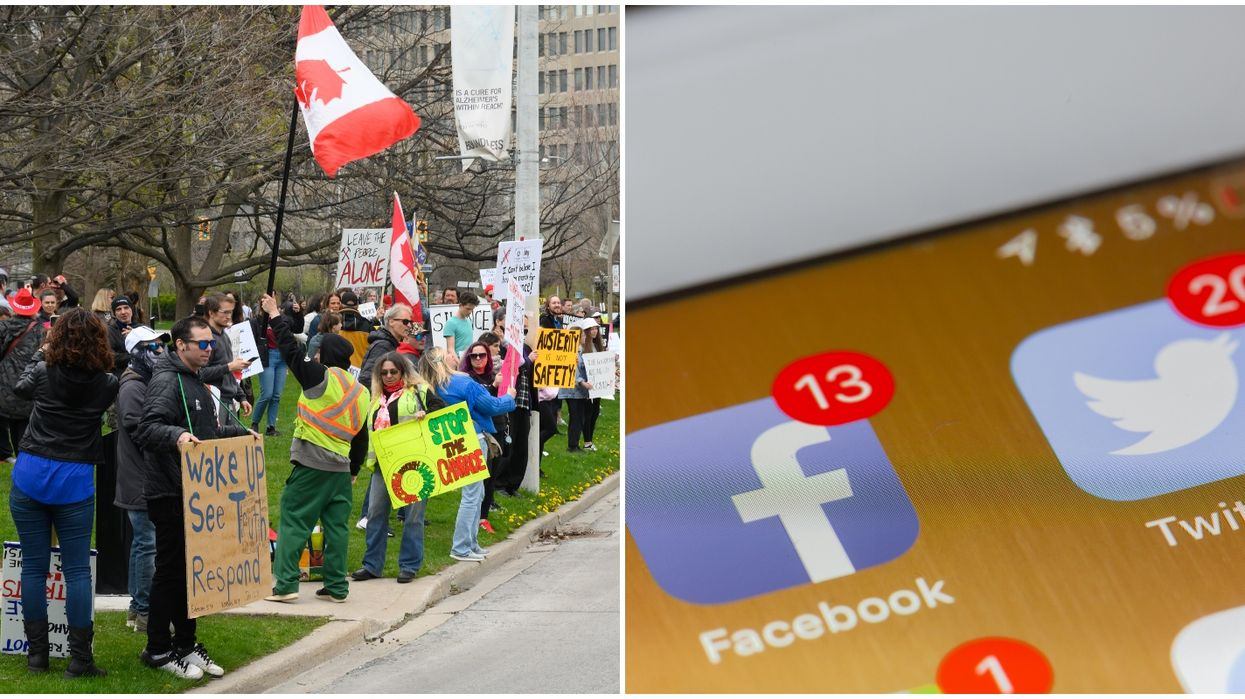 More Canadians Are Believing Unproven COVID-19 Theories & It's Because Of Social Media