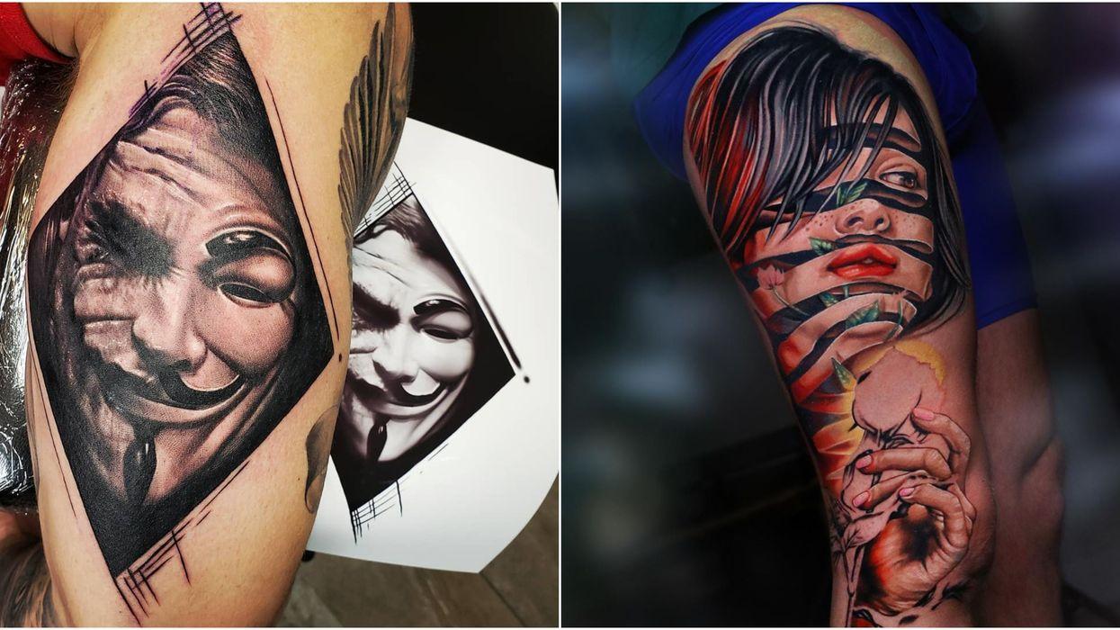 7 tatoueurs doués en réalisme avec qui tu veux booker à Montréal et aux environs