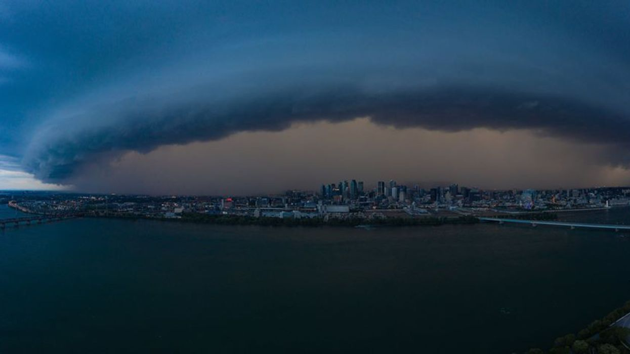 Orages à Montréal : une photo de la tempête devient virale