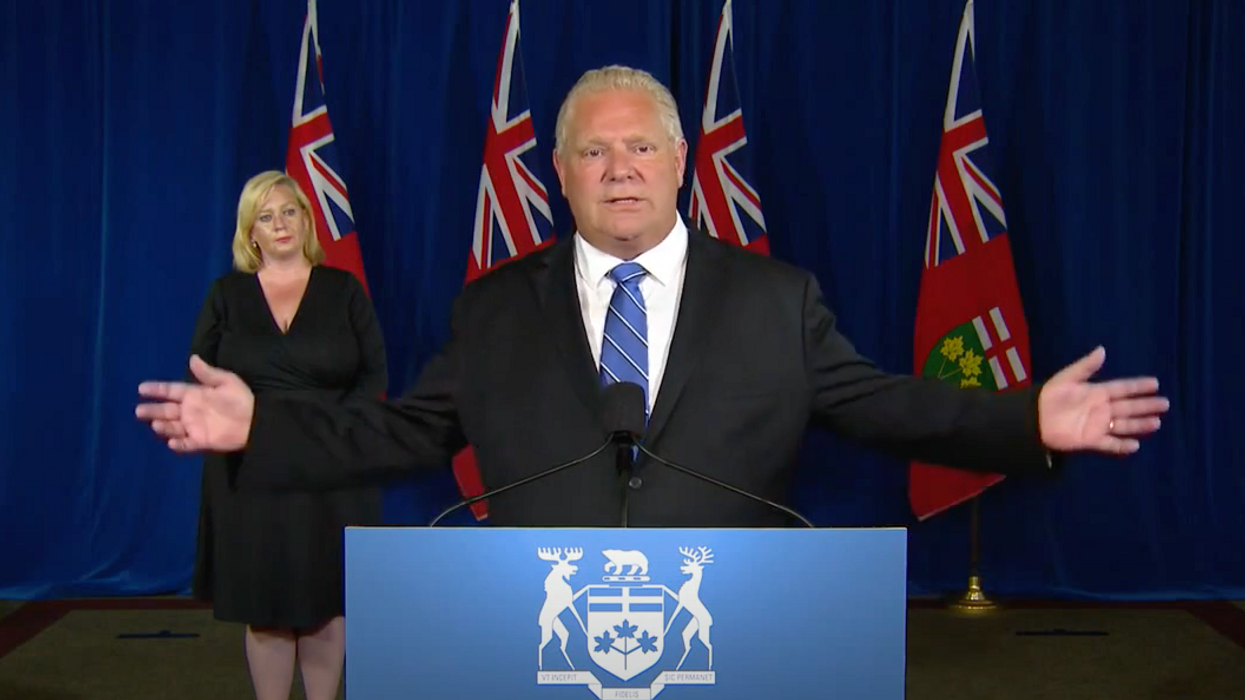 A Second Wave Of COVID-19 In Ontario Could See Schools Shut Down Again, Ford Says