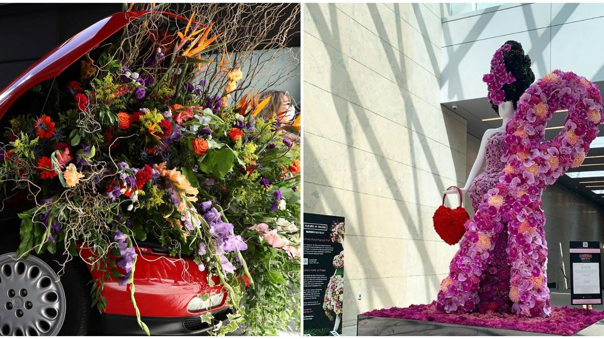 Toronto's Flower Pop-Up Takes You Through A Trail Of Blooming Installations This Week